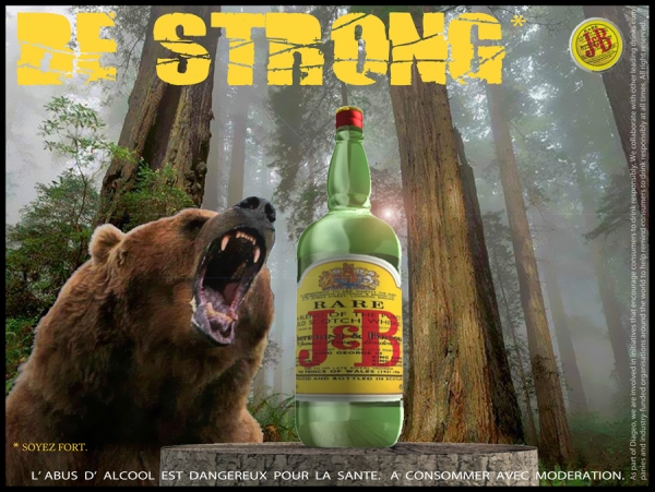 "J&B  ""Be Strong"""