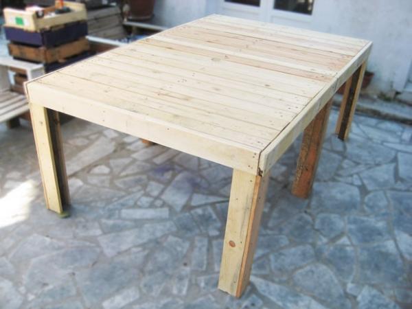 Assez Fabriquer Une Table En Bois De Palette HI09 | Montrealeast